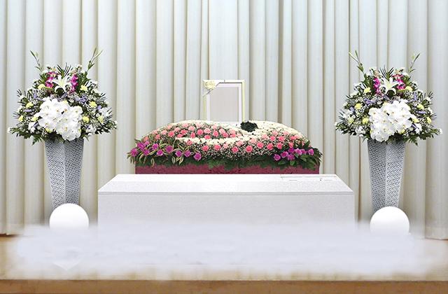 写真:家族葬30プラン