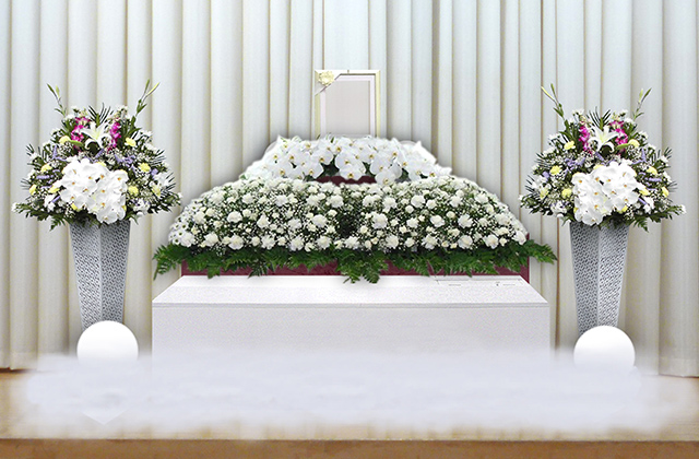 写真:家族葬50プラン